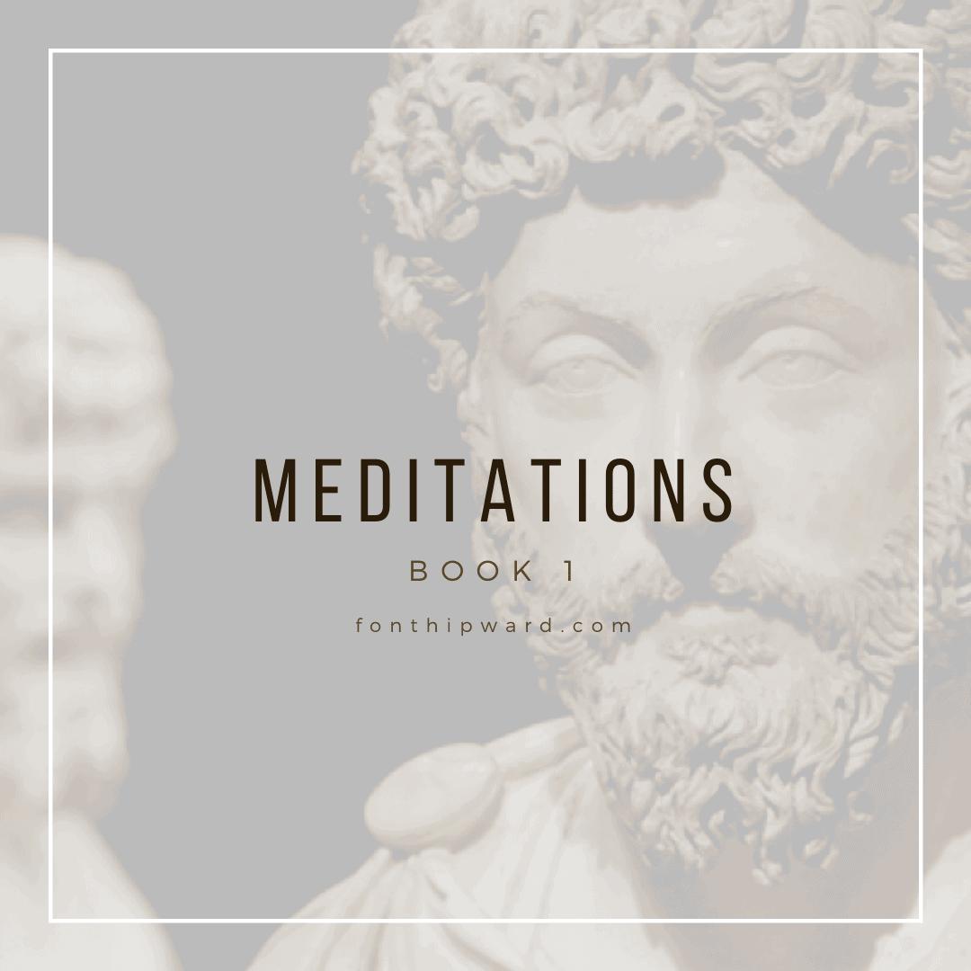 Meditations Marcus